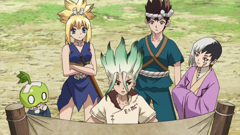 Dr Stone Season 1 Episode 20 English Dub