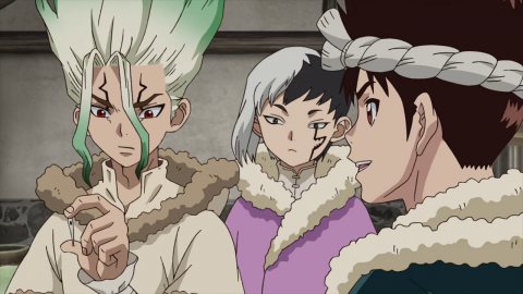 Dr Stone Season 1 Episode 24 English Dub