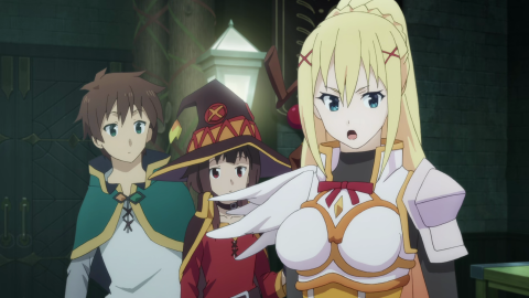 KonoSuba Season 2 Episode 01 English Dub BluRay